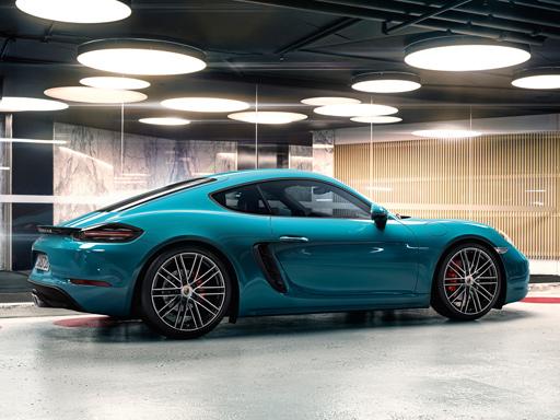 Exklusives Leasingangebot für gewerbliche Kunden: Porsche 718 Cayman S.